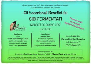 Gli Eccezionali Benefici Dei Cibi Fermentati @ Udine | Friuli-Venezia Giulia | Italia