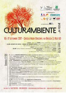 CulturAmbiente 2017 @ Circolo Nuovi Orrizzonti | Udine | Friuli-Venezia Giulia | Italia