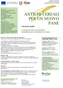 """Antichi Cereali Per Un Nuovo Pane"""" (Circolo di studio) @ Sala Polifunzionale   Sutrio   Friuli-Venezia Giulia   Italia"""