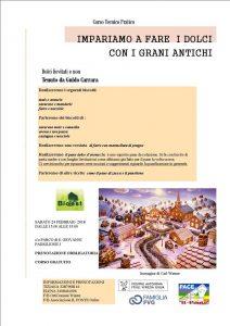 Impariamo a fare i Dolci con i Grani Antichi @ Parco San Giovanni I Padiglione Ex OPP | Trieste | Friuli-Venezia Giulia | Italia