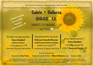 IL GIRASOLE: FONTE DI SALUTE E BELLEZZA ! @ Azienda Agricola Nadalutti | Reana del Rojale | Friuli-Venezia Giulia | Italia