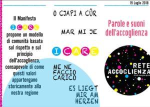 Parole e Suoni dell'Accoglienza @ Centro Balducci | Zugliano | Friuli-Venezia Giulia | Italia