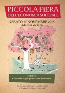 Piccola Fiera dell'Economia Solidale (Trieste) @ Posto delle Fragole presso il Parco San Giovanni  | Trieste | Friuli-Venezia Giulia | Italia