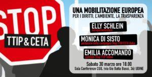 Una Mobilitazione Europea per i diritti, l'ambiente e la trasparenza @ Sala conferenze CGIL