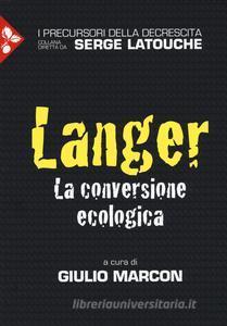 Langer. La conversione ecologica Book Cover