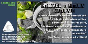 Intonaco e Pittura Naturale @ Teatro Comunale France Prešeren