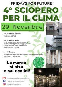 4° Sciopero Globale per il Futuro - Trieste @ Piazza Goldoni