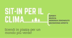 4° SCIOPERO GLOBALE: Sit In per il Clima! Udine @ Piazza XX Settembre