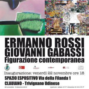 Ermanno Rossi Giovanni Gabassi Figurazione Contemporanea @ Spazio Espositivo via della Filanda
