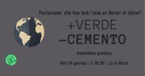 Un Futuro per l'Ex Bertoli! Assemblea Pubblica @ La' di Moret