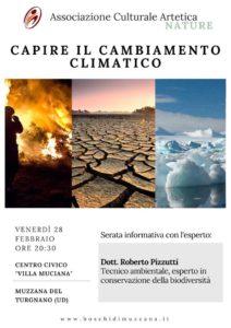"""Capire il cambiamento climatico - incontro informativo @ Centro civico """"Villa Muciana"""""""