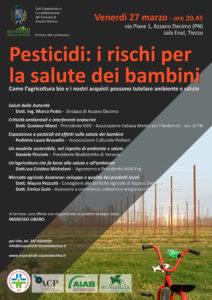 Pesticidi: i rischi per la salute dei bambini @ Sala ENAL