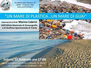 Un mare di plastica un mare di guai @ Centro Culturale Aldo Moro Cordenons
