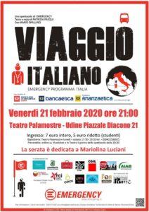 Viaggio Italiano - Teatro Emergency - in ricordo di Mariolina @ Teatro Comunale Palamostre